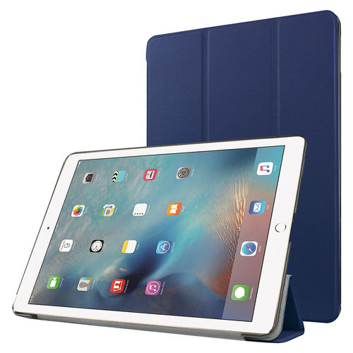 Trifold Sleep/Wake Smart Case for Apple iPad Pro (9.7 Inch) - Blue